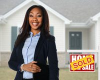 african-american-agent-front-house-beautiful-real-estate-inf-sold-77209202